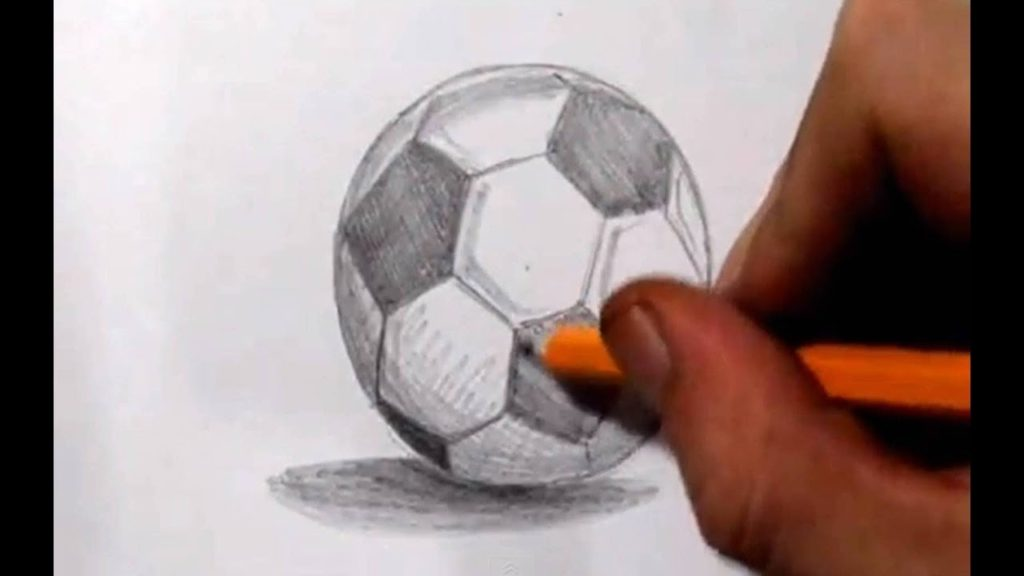 How to draw a football the viral video 2016-2017