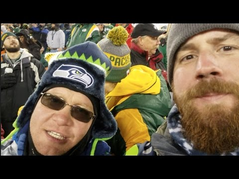 Seahawks vs Packers!  Lambeau Field.  Green Bay Day 2