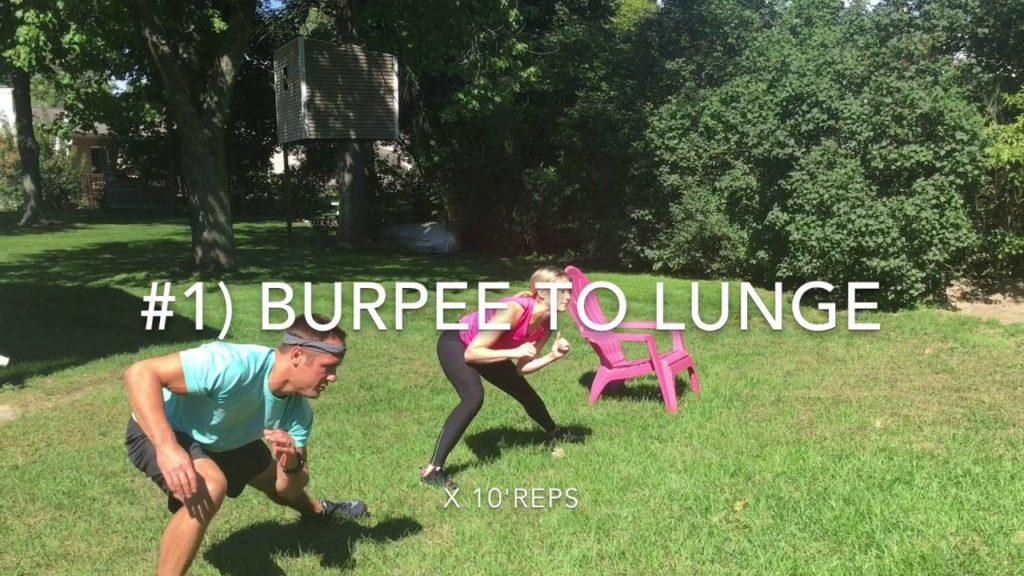 At home Football Pre-Tailgate Workout Video