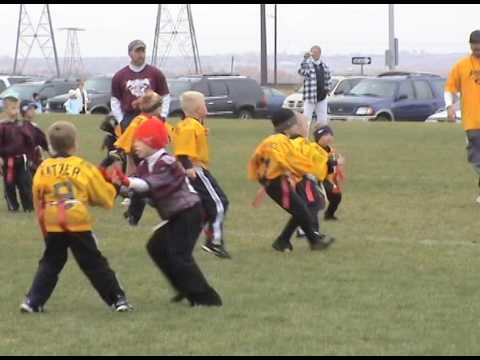 Jared playing Flag Football in 2008 Part 2
