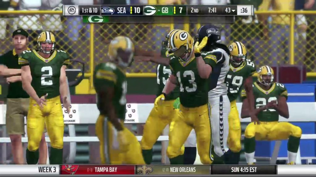 Madden CFM – 2018 Packers G03 Seahawks vs. Packers