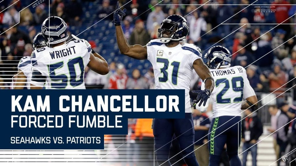 Chancellor Forces Fumble & Baldwin Scores Shortly After! | Seahawks vs. Patriots | NFL