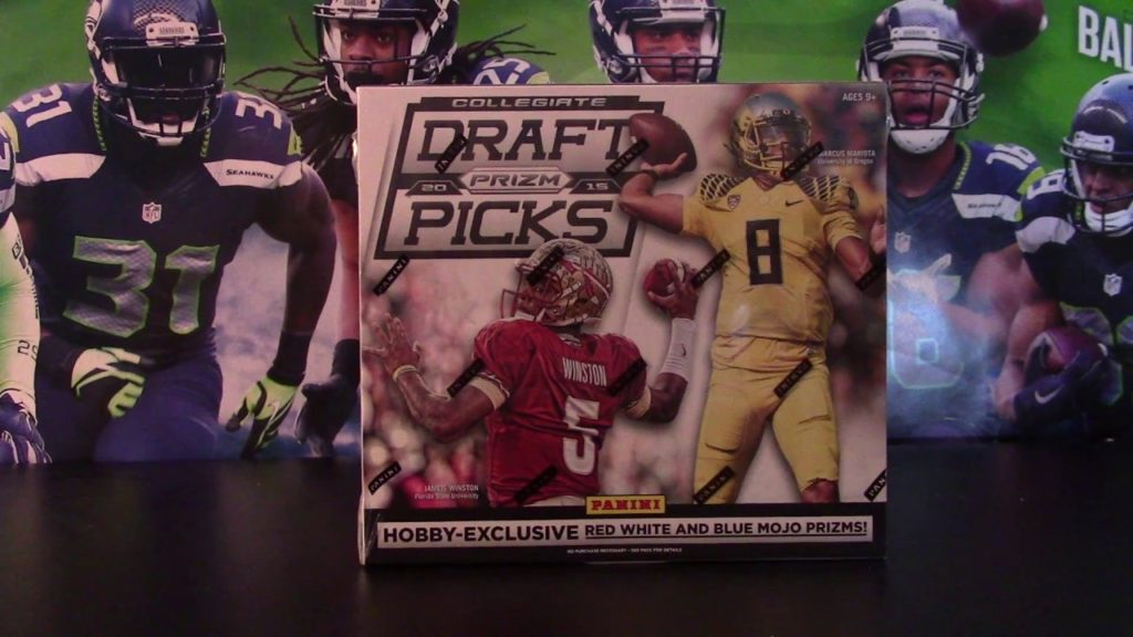 2015 Panini Prizm Draft Picks – Box #1   RWB MOJO Auto!!