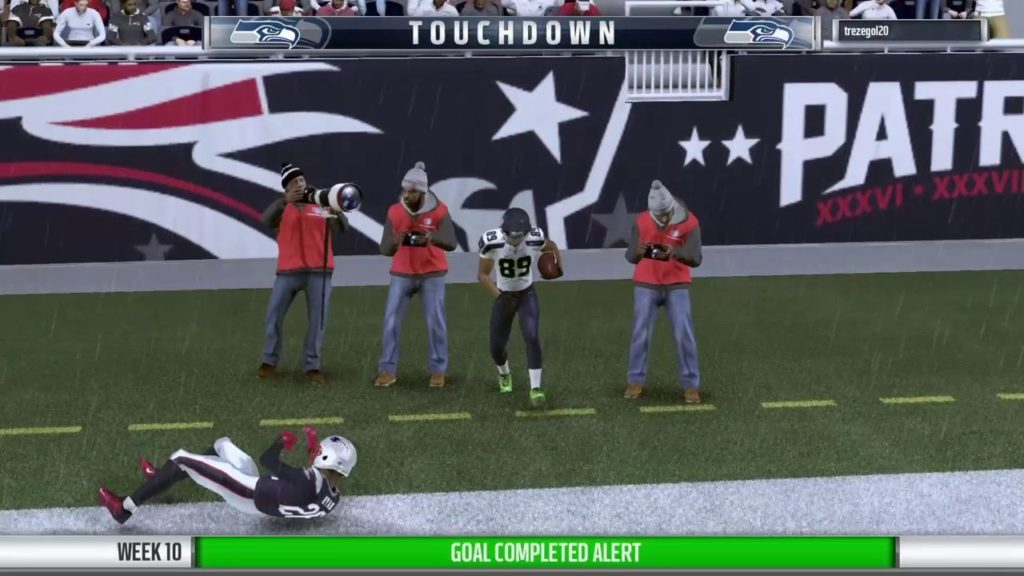 Seahawks vs. Patriots (Week 10)   Postgame Highlights   New French League