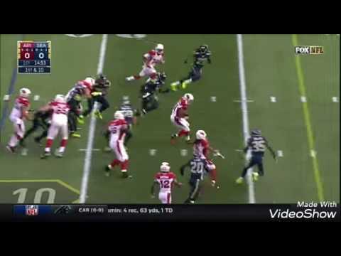 David Johnson's Monster 3 TD Game vs. Rival Seahawks   NFL Week 16 Player Highlights
