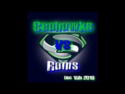 NFL Week 15   NFC West Championship   Seahawks vs Rams   2nd Half Condensed   12/15/16