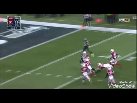 Jimmy Graham Rumbles Down the Field for a Huge TD!   Cardinals vs. Seahawks   NFL Week 16