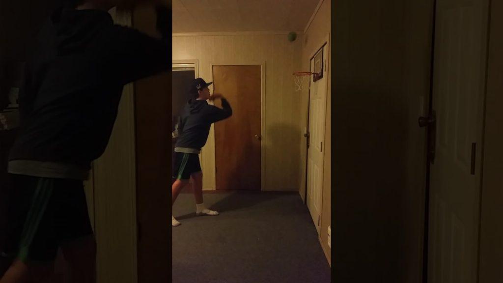 Basketball trick shots #1