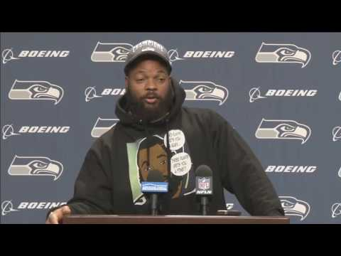 Michael Bennett preview on playoff game Detroit Lions vs Seattle Seahawks  – January 3, 2017