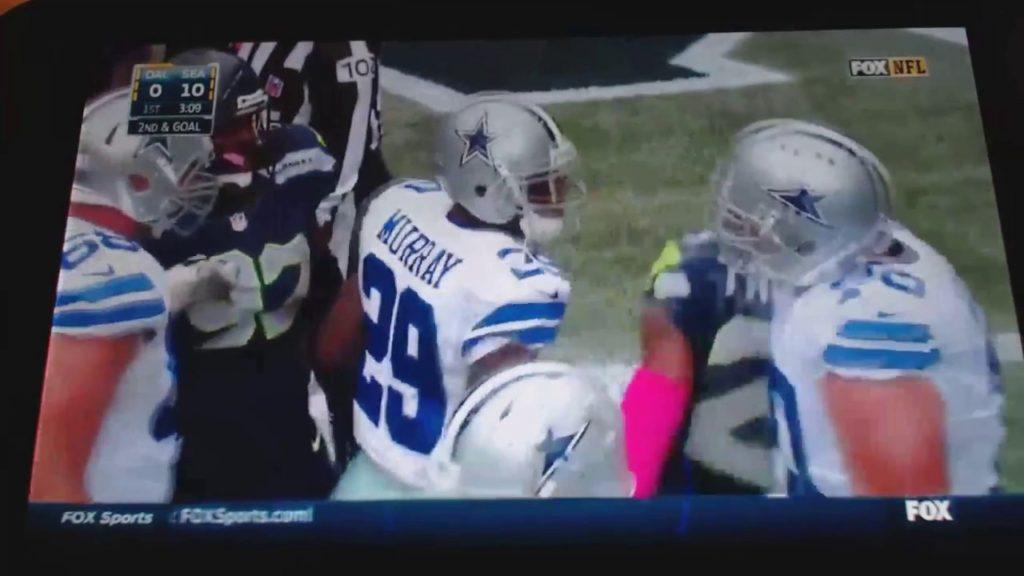Dallas Cowboys VS Seahawks 2014