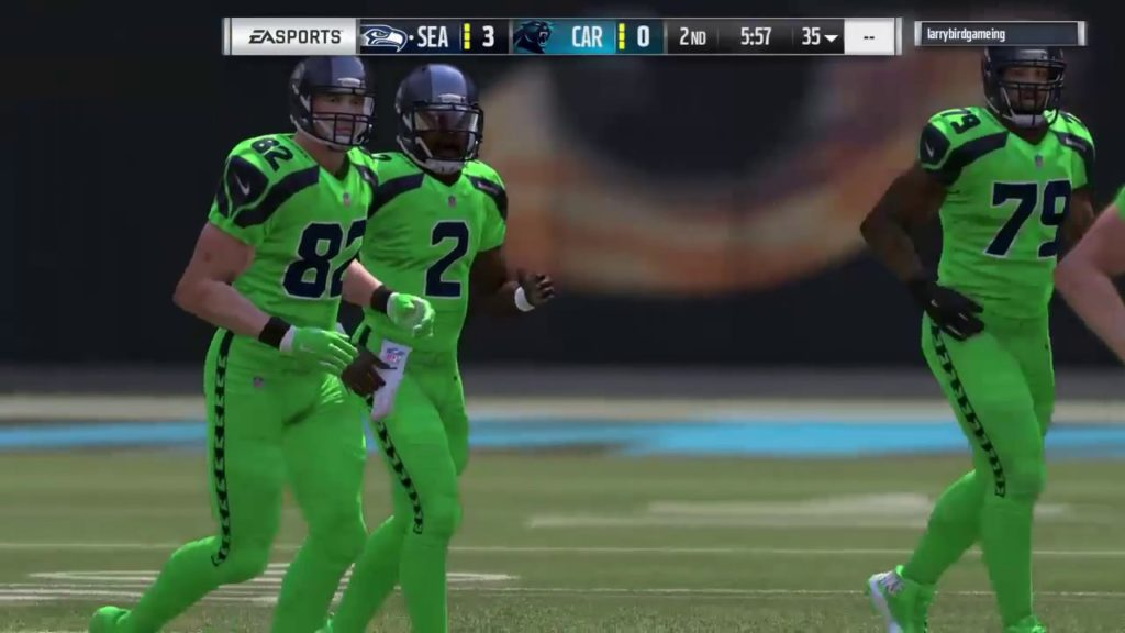 Madden NFL 17- Seattle Seahawks vs Carolina Panthers!