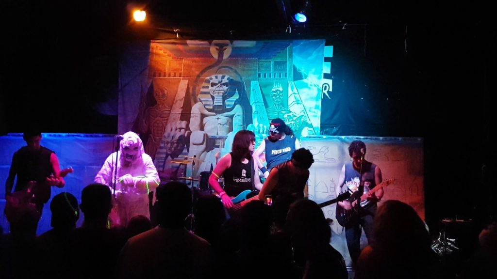 Powerslave -Iron Maiden Cover – Ancient Mariners