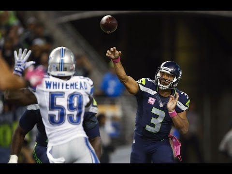 NFC Wild Card Game – Detroit Lions at Seattle  Seahawks January 7, 2017 Highlights