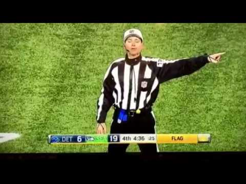 Seattle Seahawks Paul Richardson SECOND ( OBJ )one handed catch 4th quarter playoffs 2016