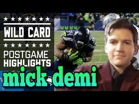 Lions vs Seahawks Full Game Highlights NFL playoffs wildcard review and reaction