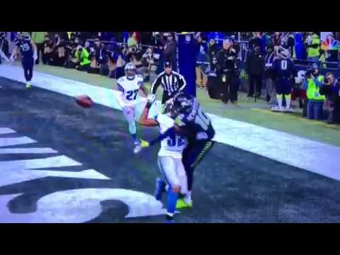 Paul Richardson Playoff Catch | Seahawks at Lions | One handed