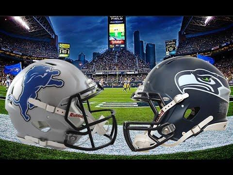 Live Detroit Lions Vs Seattle Seahawks NFL 2017