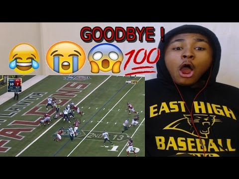 SAY GOODBYE! Seahawks vs  Falcons NFL Divisional Game Highlights REACTION