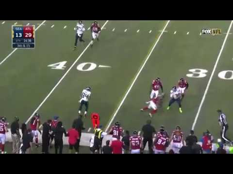 Brian Poole's Big Hit on Russell Wilson
