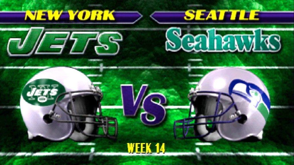 New York Jets vs. Seattle Seahawks – THURSDAY NIGHT FOOTBALL Week Fourteen.