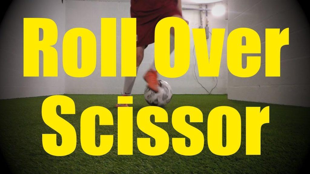 Roll Over Scissor – Dynamic Ball Mastery Skills – Soccer (Football) Coerver Training for U10-U11
