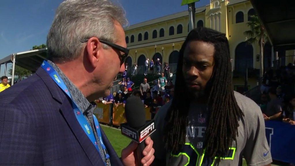 Sherman calls NFL docking Seahawks draft pick 'foolishness'