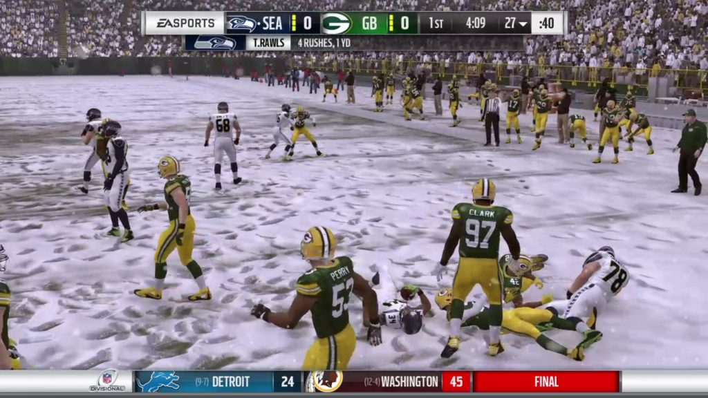 Seattle Seahawks @ Green Bay Packers [Divisional Game]