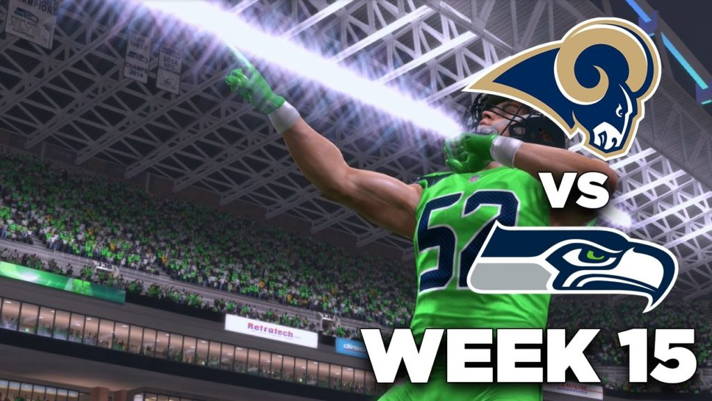 PLAYOFF HUNT vs. Rams – (W15, S1) – Madden 17 Seahawks Franchise