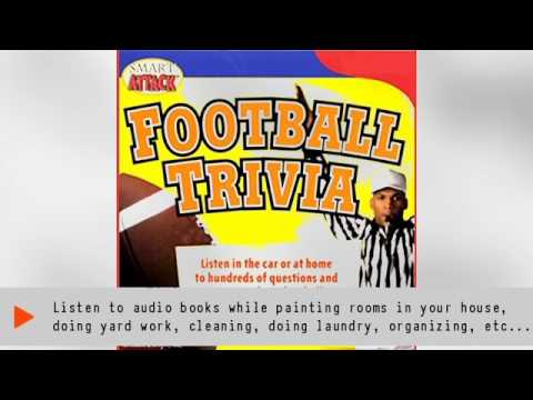 Listen to Smart Attack Football Trivia Audiobook by Michael O'Halloran, narrated by Dave Denninger