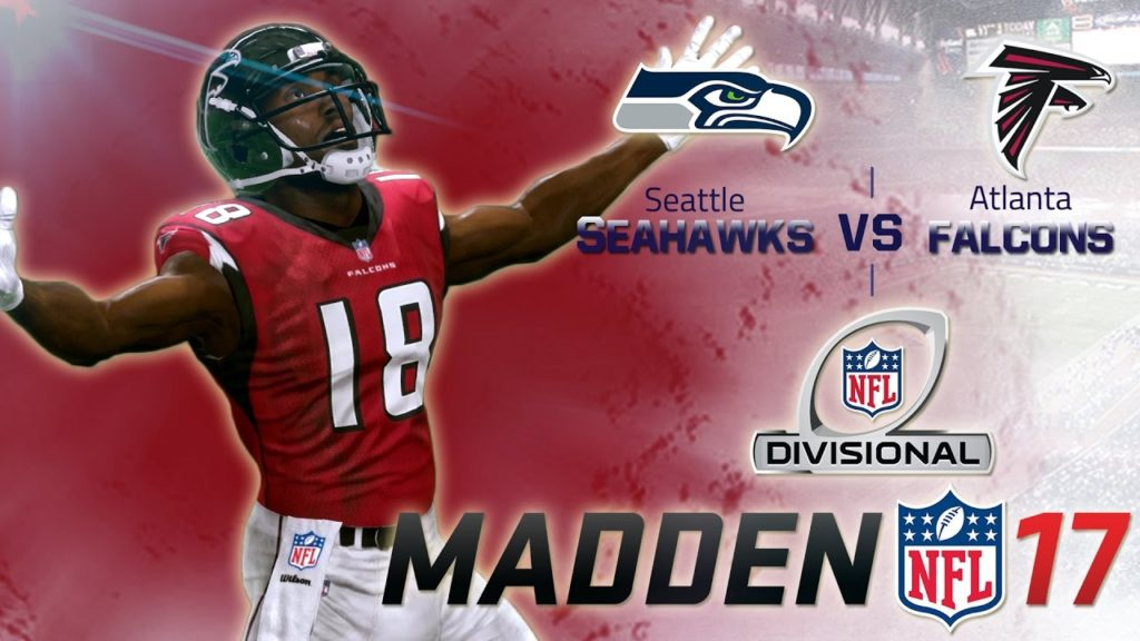 Madden NFL 17 – Seattle Seahawks at Atlanta Falcons – NFC Divisional Playoffs
