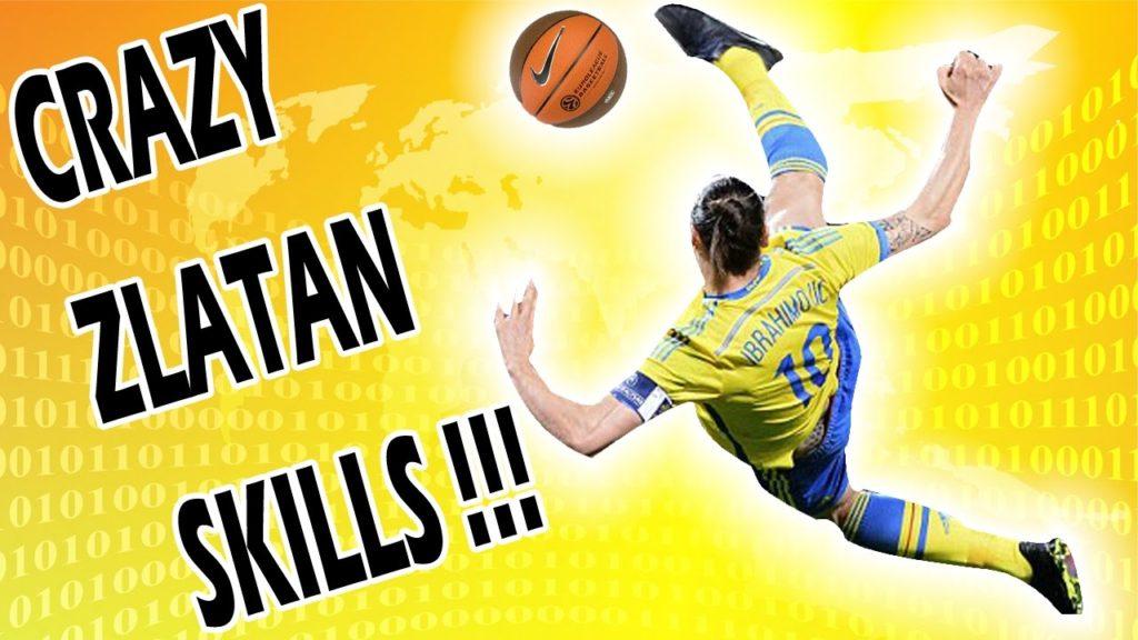 Zlatan Ibrahimovic Best Football Skills Tutorial