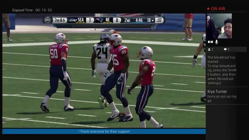 Tuesday Night Football Patriots vs. Seahawks [Madden 16]