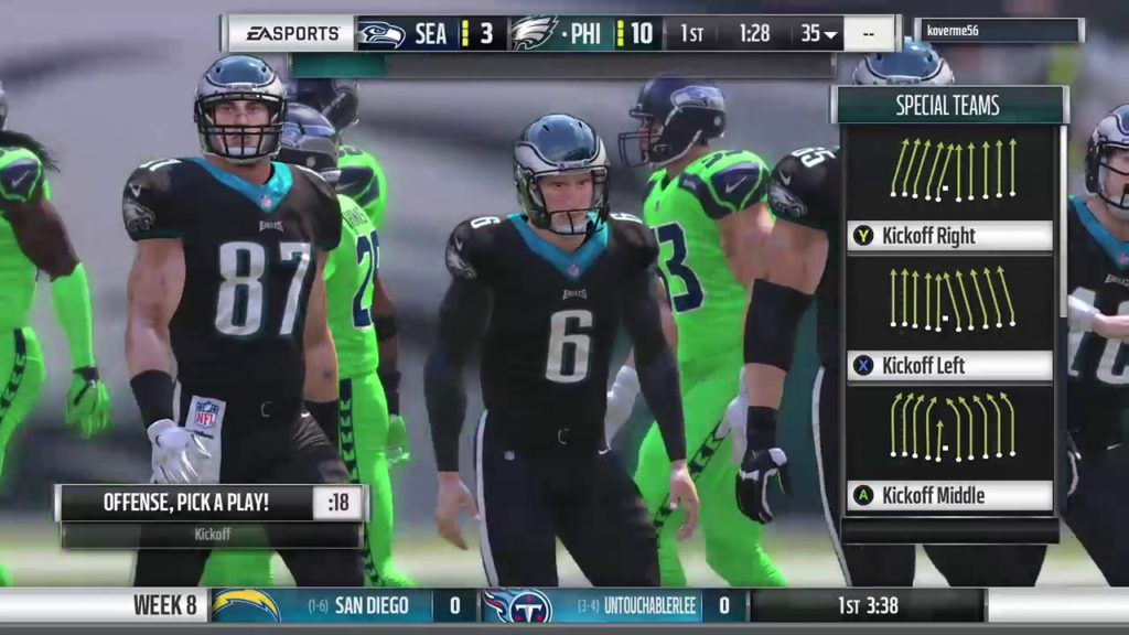 SGP Football S2 W8: Seahawks @ Eagles