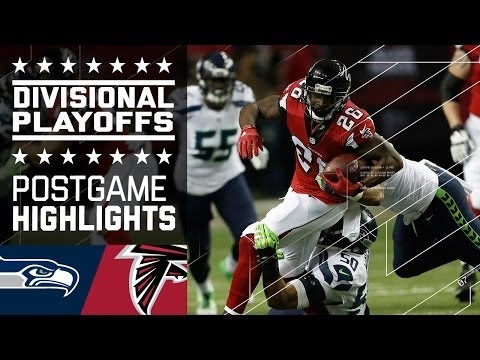 NFL 2016 Divisional Round Seahawks vs Falcons Highlights