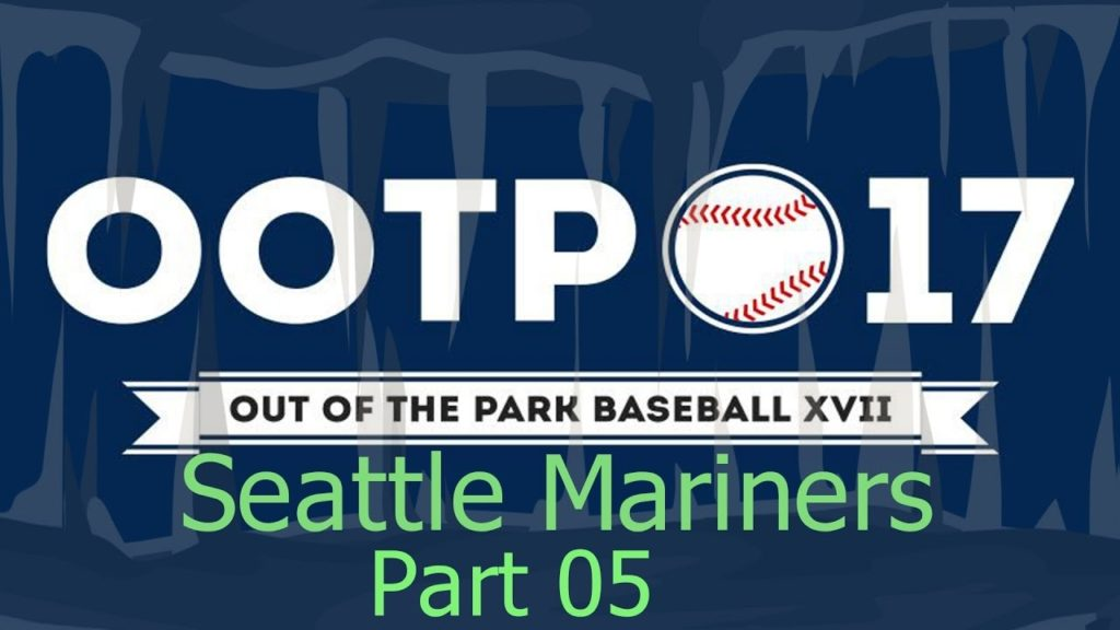 Out of the Park Baseball 17 – Seattle Mariners 05 – Oakland Athletics Game 3