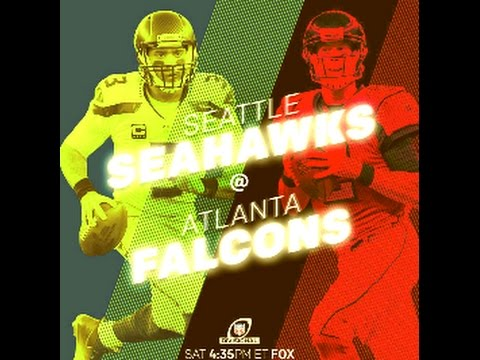 Madden 17: (3) Seattle Seahawks @ (2) Atlanta Falcons NFC DIvisional Round Playoffs 2017