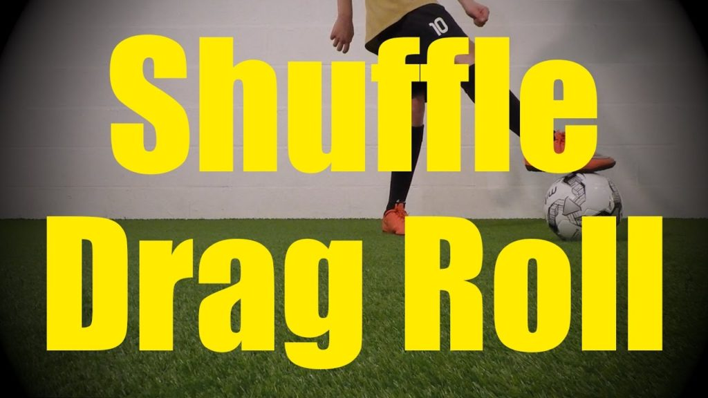Shuffle Drag Roll – Fast Footwork Drills – Soccer (Football) Training for U10-U11
