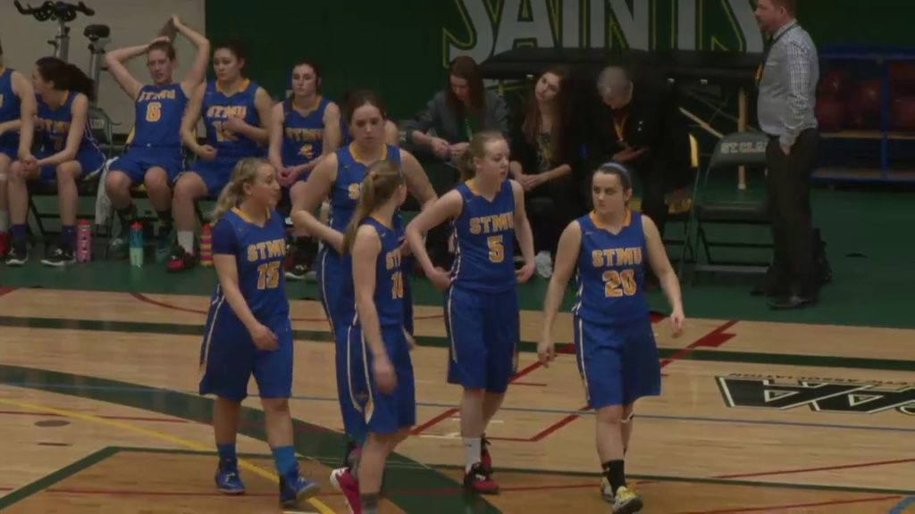 CCAA VIU Mariners vs St Mary's Lightning