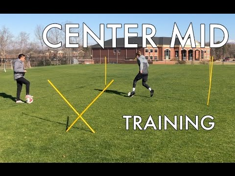 Soccer Drills for Center Mids – Individual Session