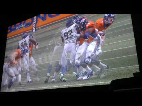 Armin Narro Preseason Seahawks vs Broncos 1st QTR Video 8396