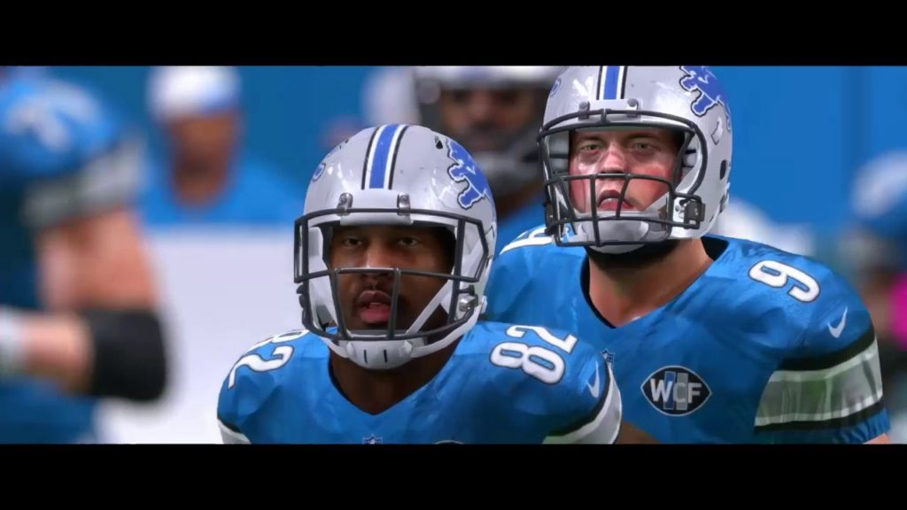Madden 17 lions franchise year 4 game 5 vs seahawks