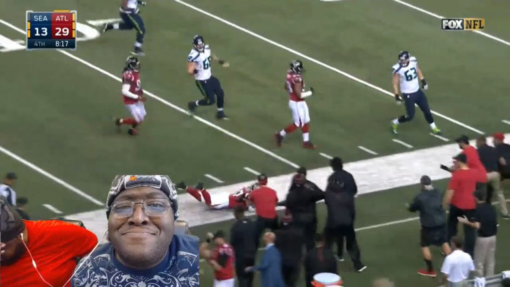 J&B Army Reacts: Seahawks vs. Falcons | NFL Divisional Game Highlights