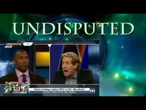 Skip And Shannon Undisputed   2017 Packers at Cowboys Seahawks at Falcons Who Wins