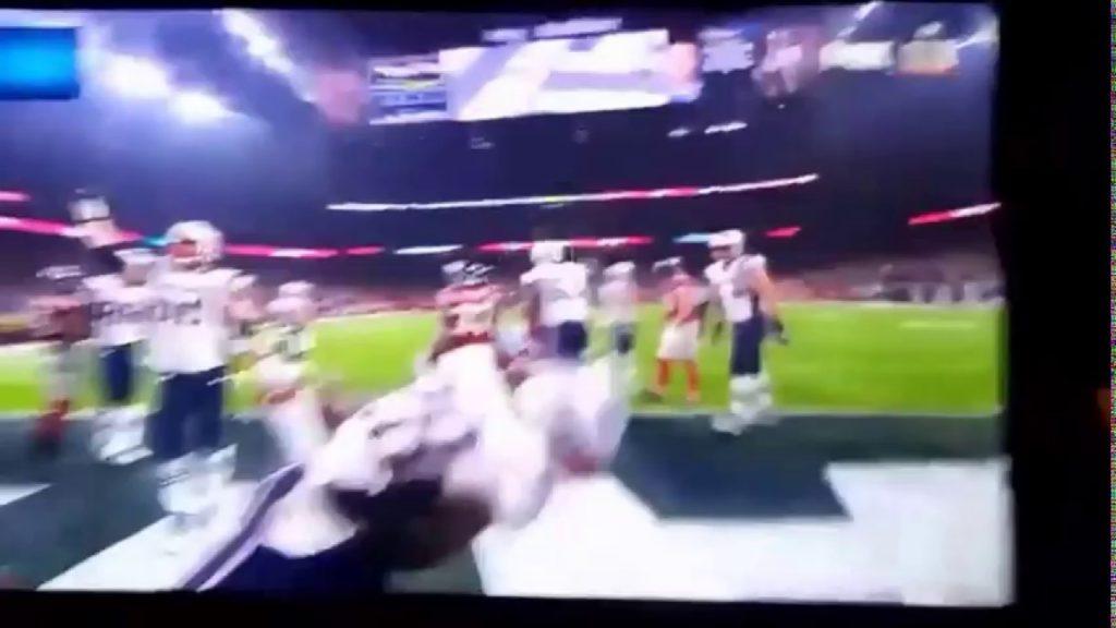 Patriots touchdown pats 26 Falcons 28