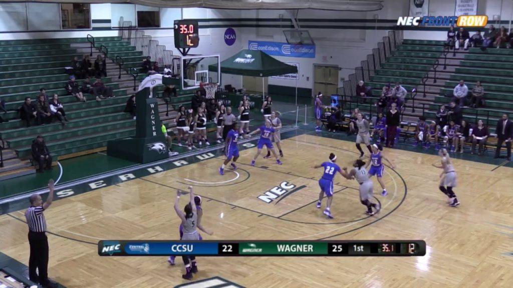 WBB: Wagner vs CCSU Highlights