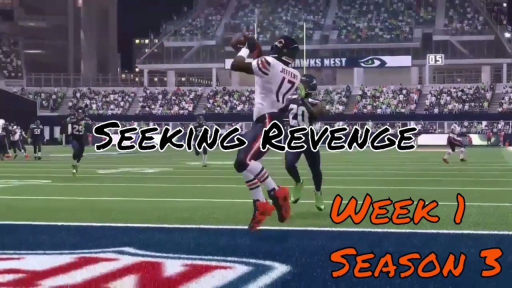 Chicago Bears @ Seattle Seahawks (Week 1, Season 3)