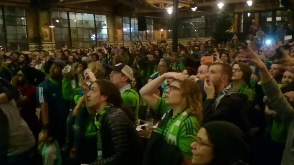 Fan Reaction – MLS Cup 2016 – Seattle Sounders Win