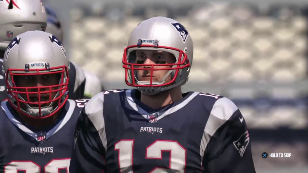 Seattle Seahawks @ New England Patriots rematch madden NFL 17