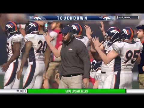 OMFL Week 13 Broncos @ Seahawks