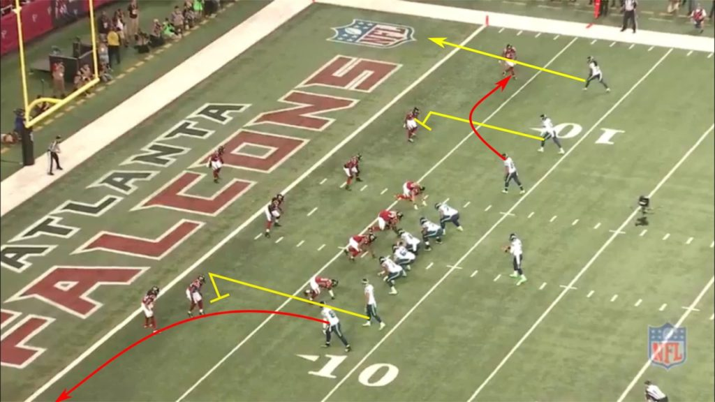 A Look at the Film: Russell WIlson-Jimmy Graham TD to Start the Divisional Round